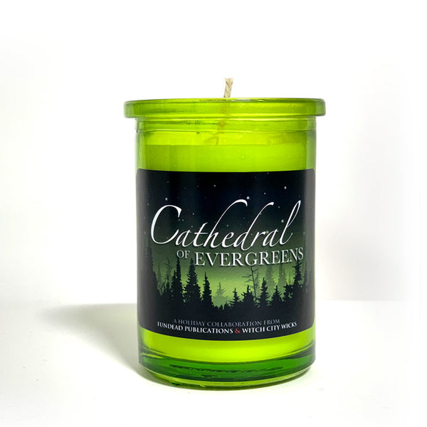 Cathedral of Evergreens - limited candle + short story