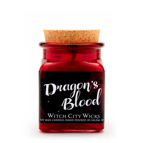 Dragon's Blood jar candle