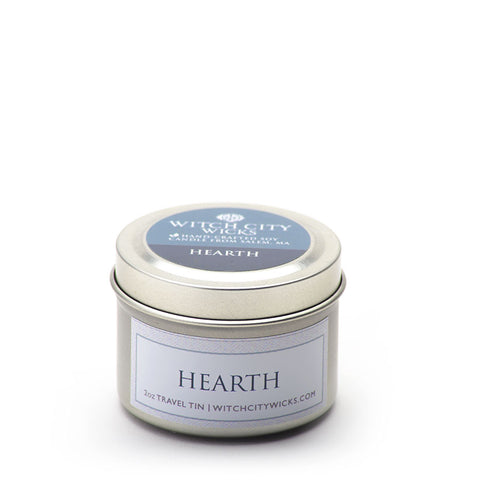 Hearth travel tin