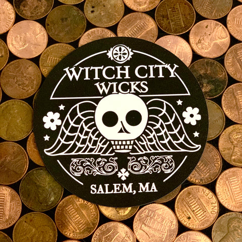 Witch City Wicks magnet
