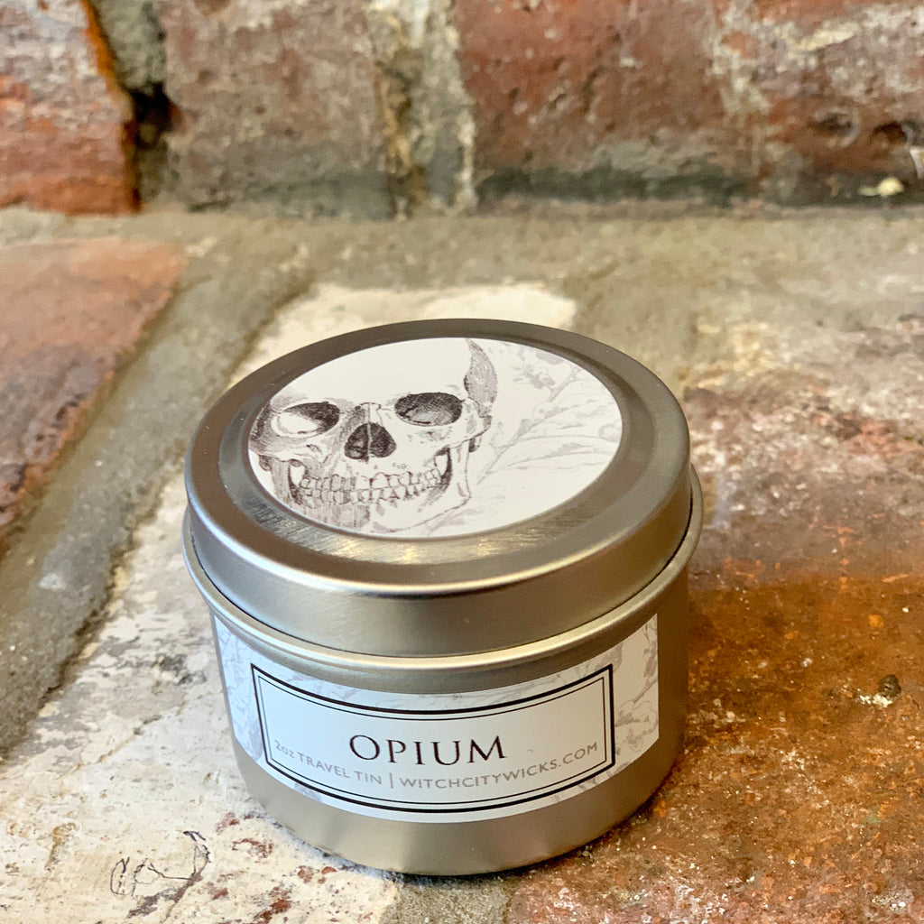 Opium travel tins
