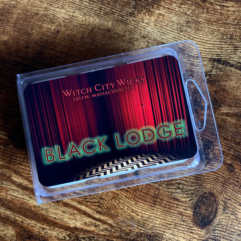 Black Lodge wax melts