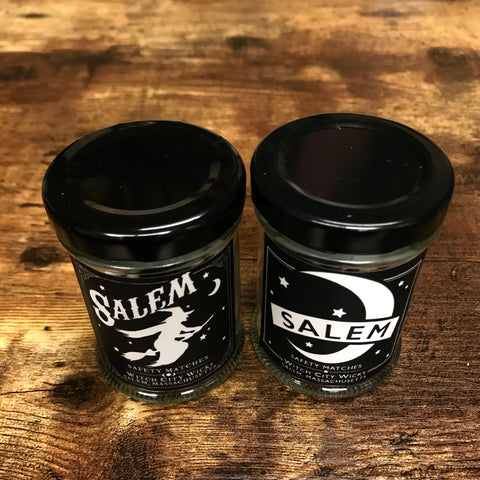 SALEM Match Jar- 2 styles