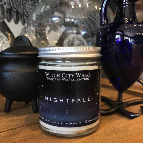 Nightfall jar candle