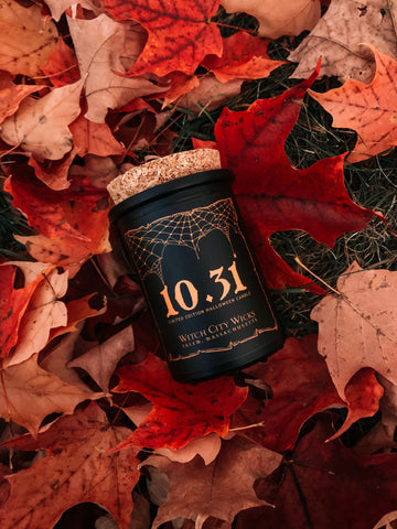 Limited Edition: 10.31 Halloween candle