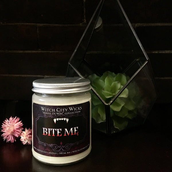 Bite Me jar candle