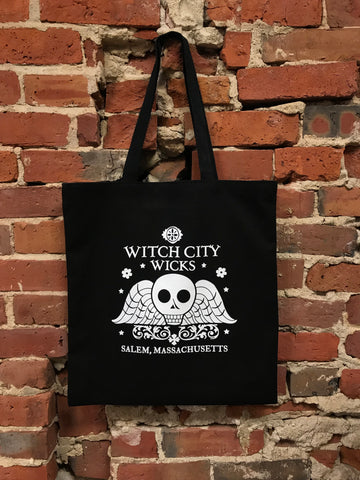 Witch City Wicks tote bag