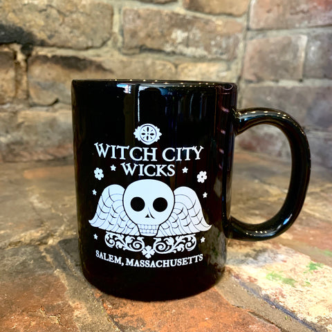 Witch City Wicks ceramic mug