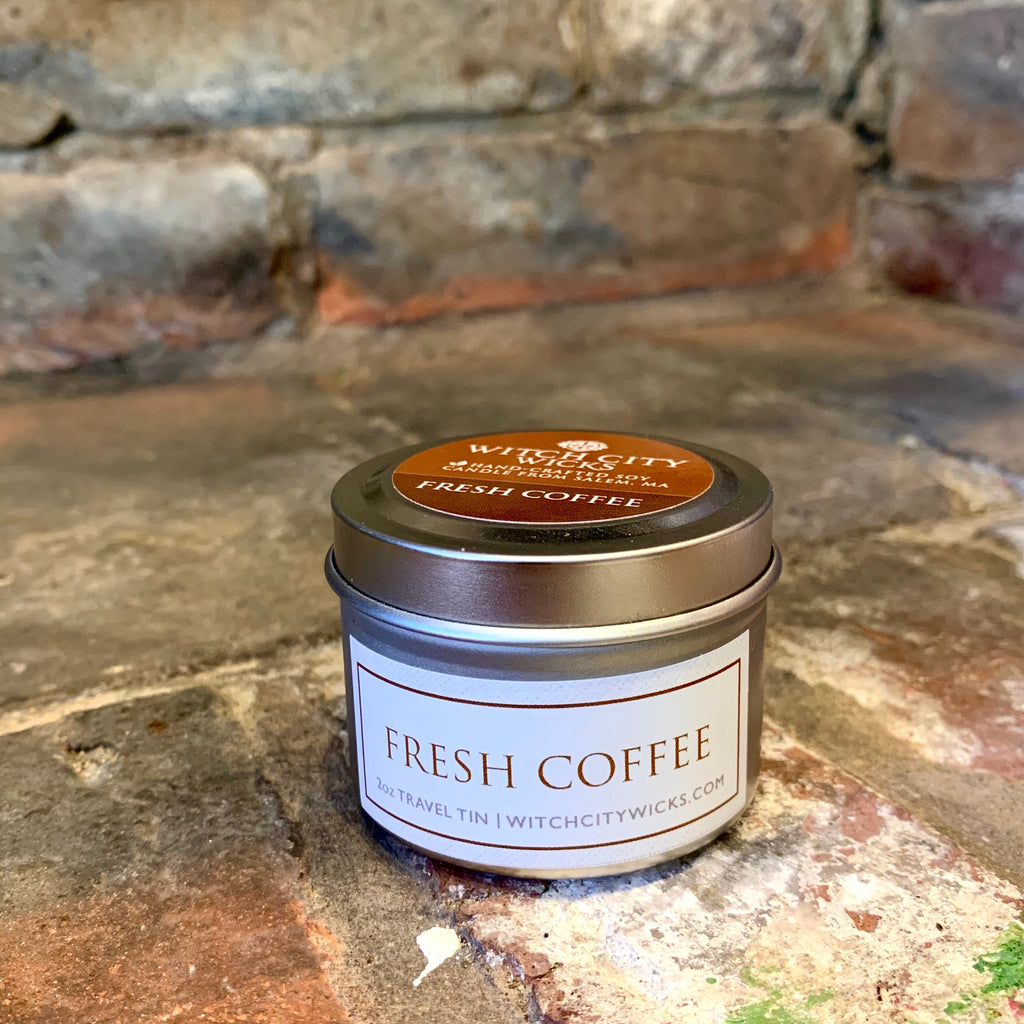 Fresh Coffee travel tin