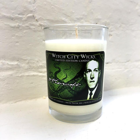 HP Lovecraft candle, limited edition