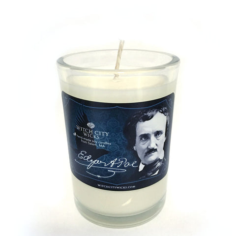 Edgar Allan Poe candle, limited edition