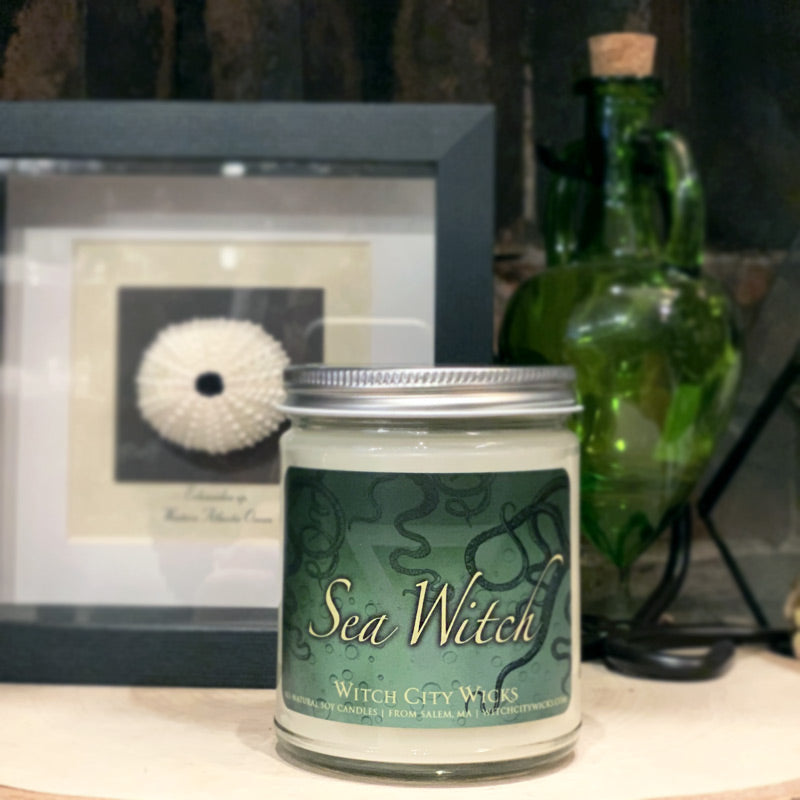 Sea Witch jar candle