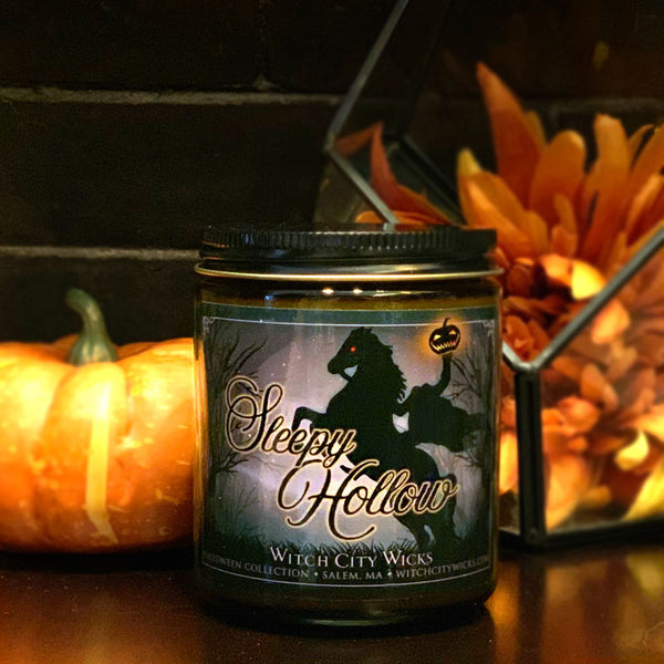 Sleepy Hollow jar candle