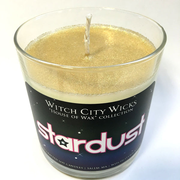 Stardust limited edition glitter candle