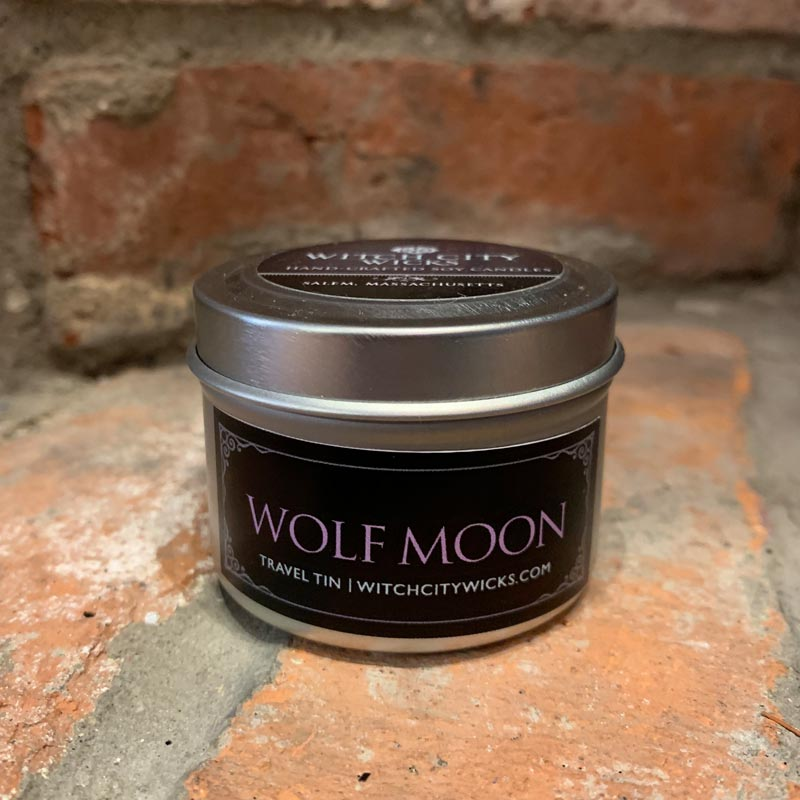 Wolf Moon travel tin