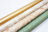 Uncoated Botanica Champagne /Copper Gift Wrap