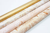 Uncoated Antique Gold Gift Wrap