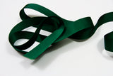 Plain Grosgrain Hunter Green Ribbon - 25mm 3 metres