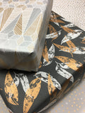Coolabah Uncoated Graphite Copper Wrap-gift wrap-dear mabel