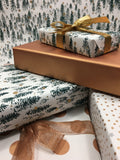 Copper Uncoated Gift Wrap-gift wrap-dear mabel