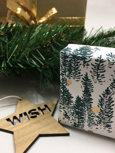 WISH BLUEGUM ornament