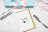 Baby Heart A6 Card-Gift Card-dear mabel