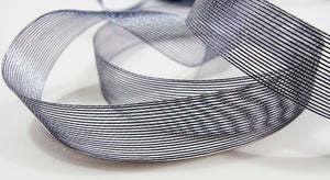 Aria Gunmetal Ribbon - 25mm
