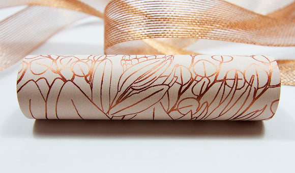Botanica Champagne Copper Wrap Band