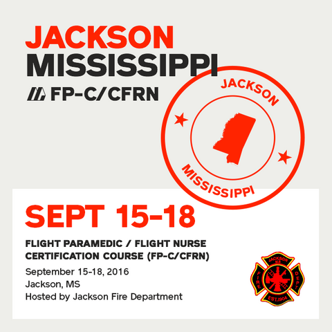 [Archive] Flight Paramedic Prep (Mississippi Sep 16) - FP-C/CFRN