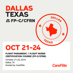 [Archived] Flight Paramedic Prep (Texas Oct 16) - FP-C/CFRN