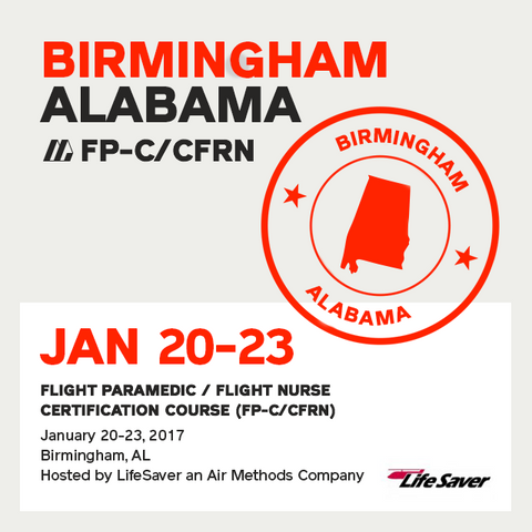 Flight Paramedic Prep (Alabama Jan 17) - FP-C/CFRN