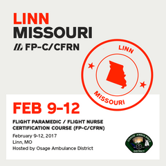 Flight Paramedic Prep (Missouri Feb 17) - FP-C/CFRN