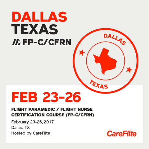 Flight Paramedic Prep (Texas Feb 17)- FP-C/CFRN