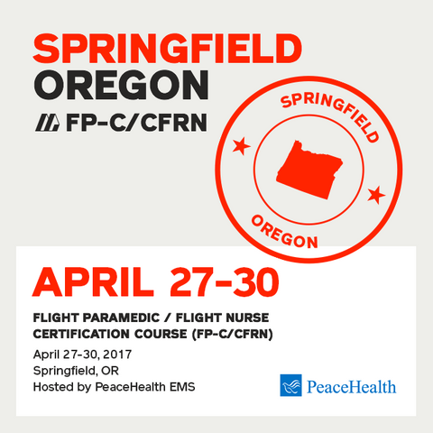 [Archived] Flight Paramedic Prep (Springfield Apr 17) - FP-C/CFRN