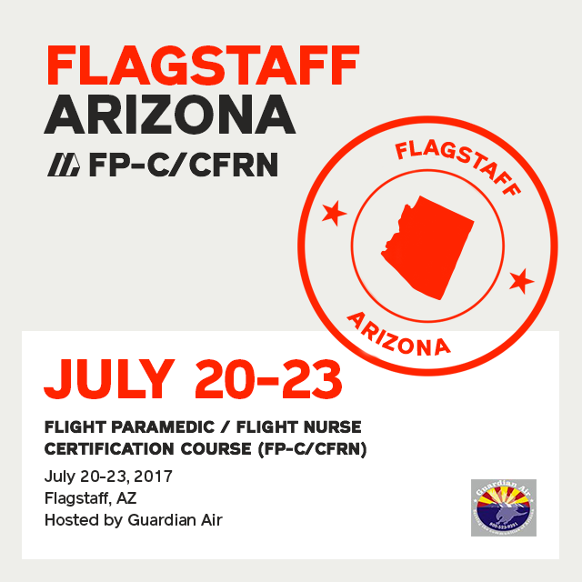 Flight Paramedic Prep (Arizona Jul 17) - FP-C/CFRN