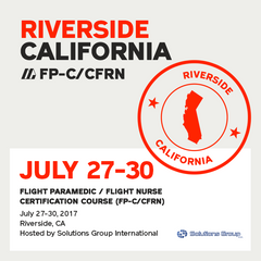 Flight Paramedic Prep (California Jul 17) - FP-C/CFRN