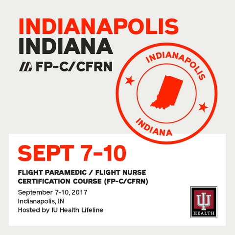 Flight Paramedic Prep  (Indiana Sep 17) - FP-C/CFRN