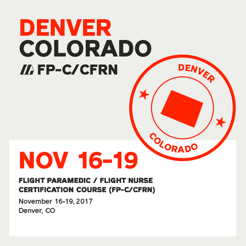 Flight Paramedic Prep  (Colorado Nov 17) - FP-C/CFRN
