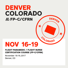 [Archive] Flight Paramedic Prep - Colorado Nov 2017 - (FP-C/CFRN/CCP-C)