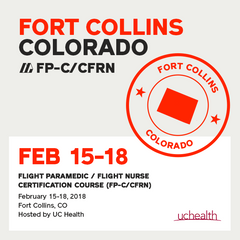 [Archived] Flight Paramedic Prep - Colorado February 2018 - (FP-C/CFRN/CCP-C)