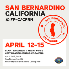 [Archive] Flight Paramedic Prep - California Apr 2018 - (FP-C/CFRN/CCP-C)
