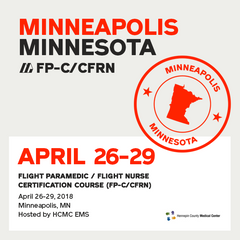 Flight Paramedic Prep - Minnesota Apr 2018 - (FP-C/CFRN/CCP-C)