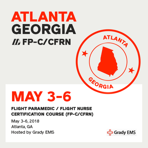 Flight Paramedic Prep - Georgia May 2018 - (FP-C/CFRN/CCP-C)
