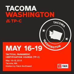 Tactical Paramedic Prep (TP-C) - Washington May 2018