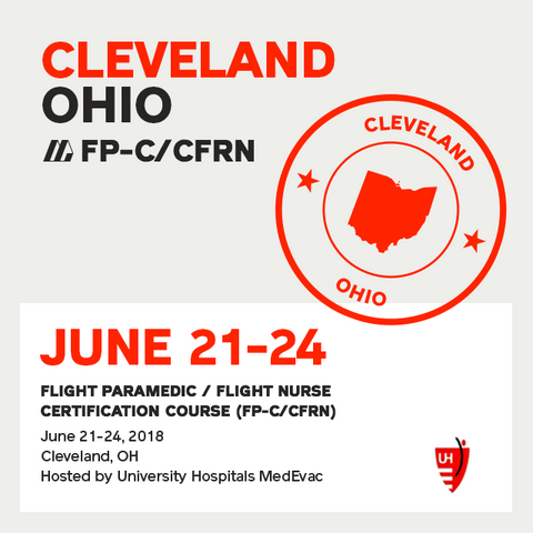 Flight Paramedic Prep - Ohio June 2018 - (FP-C/CFRN/CCP-C)