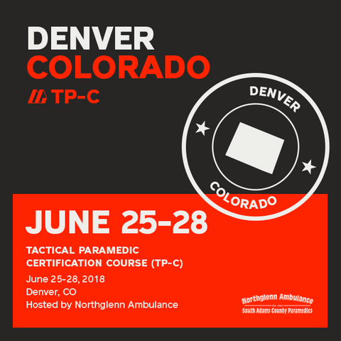 Tactical Paramedic Prep (TP-C) - Colorado June 2018