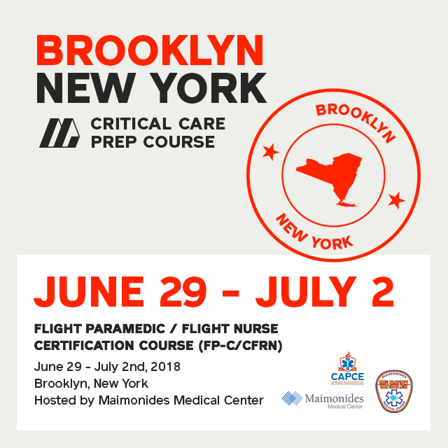 Fp Ccfrn Course In Brooklyn 29 June 2 July 2018 Ia Med