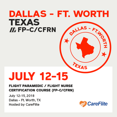 Flight Paramedic Prep - Texas July 2018 - (FP-C/CFRN/CCP-C)