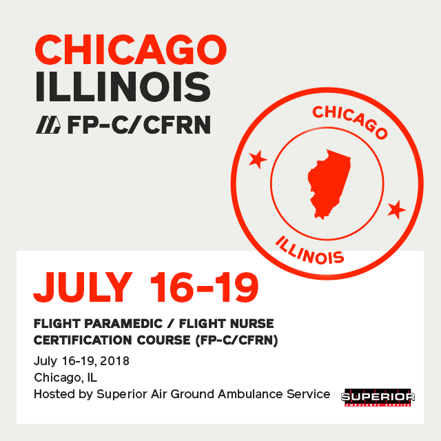 [Archive] Flight Paramedic Prep - Illinois Jul 2018 - (FP-C/CFRN/CCP-C)