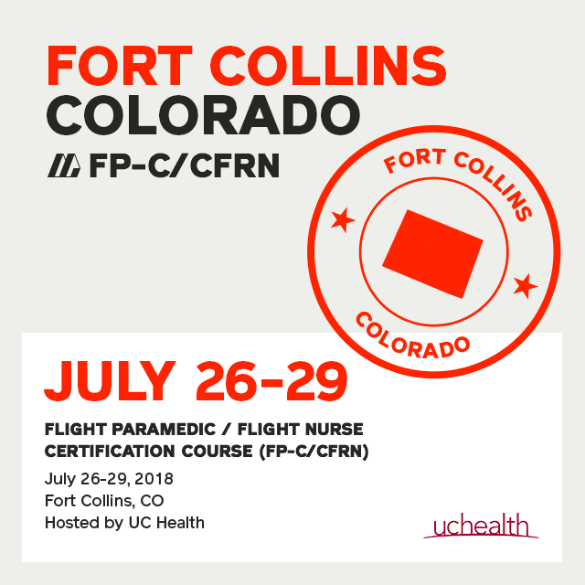 [Archive] Flight Paramedic Prep - Colorado July 2018 - (FP-C/CFRN/CCP-C)